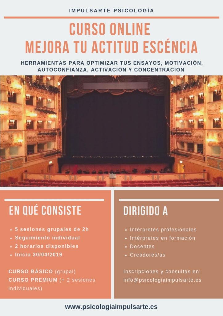 impulsarte psicología, marta g. garay, psicología para artistas, motivación, autoconfianza, danza, concentración, música, teatro