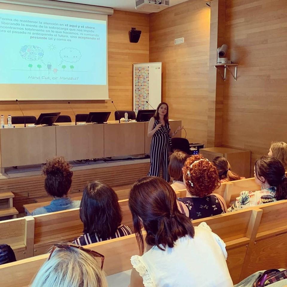 Conferencia Taller Marta G. Garay Impulsarte Psicología Miedo escénico