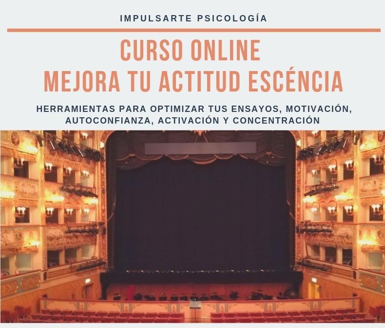 Mejora tu Actitud Escénica Marta G Garay Impulsarte Psicología Curso Online
