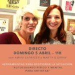 Cartel Directo Coronavirus 5 Psicología Impulsarte Marta G Garay y Amaia Carnicer